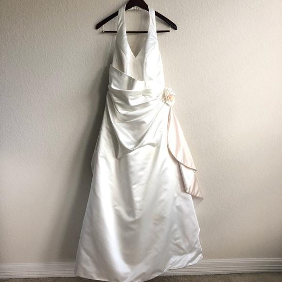 Plus Size David's Bridal Wedding Dress